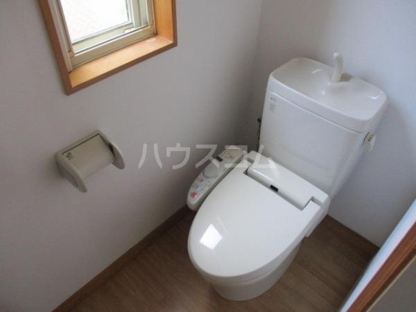 六名3丁目戸建てのトイレ
