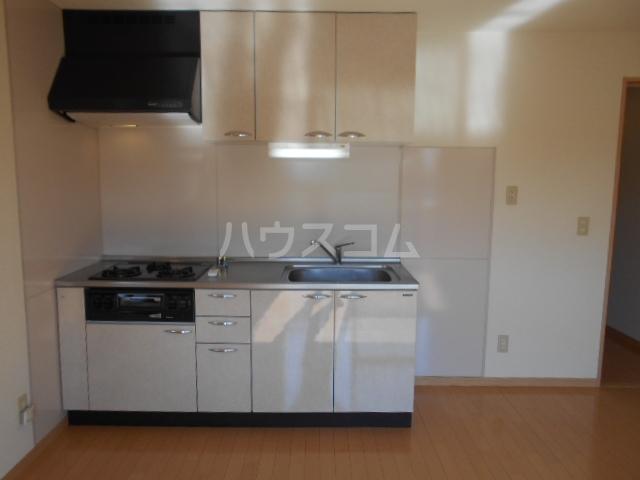 ザ・ハウス2 105号室のキッチン