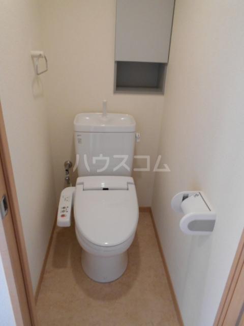 ザ・ハウス2 105号室のトイレ