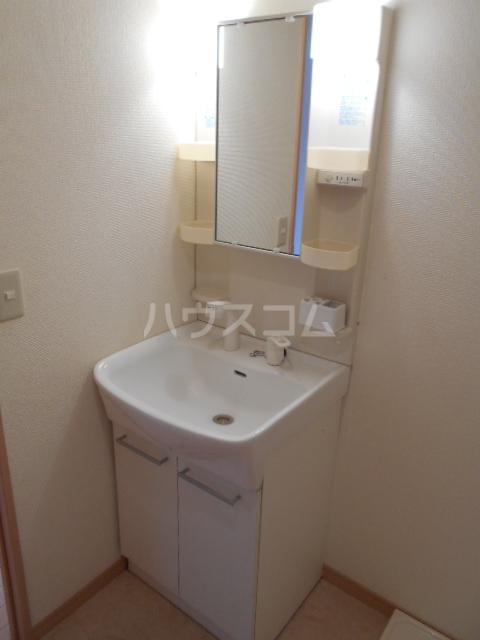 ザ・ハウス2 105号室の洗面所