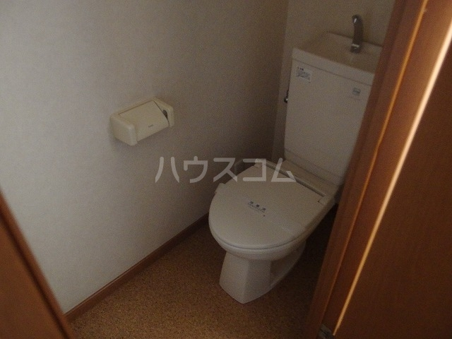 ファイン聖蹟 102号室のトイレ