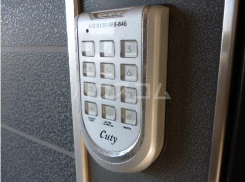 グレース松戸Ⅲ 201号室のセキュリティ