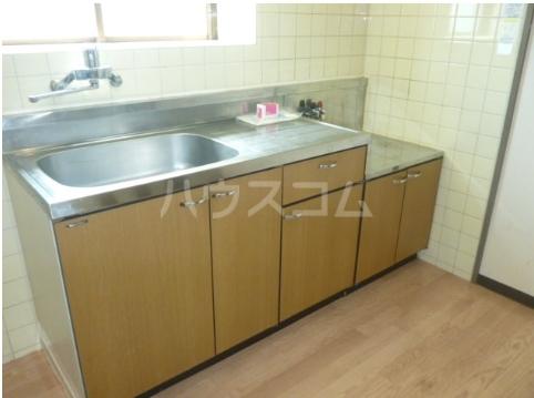 グレース松戸Ⅲ 201号室のキッチン