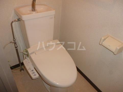 グレース松戸Ⅲ 201号室のトイレ