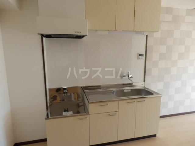 シャトー芝 102号室のキッチン