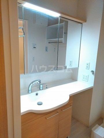 SERENO 106号室の洗面所