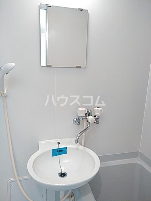 アムール石橋 101号室の洗面所