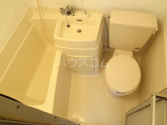 シャトレアルファスペース A号室のトイレ
