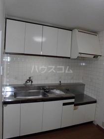 シャトー所沢 00303号室のキッチン