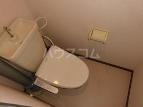 シャトー所沢 00303号室のトイレ