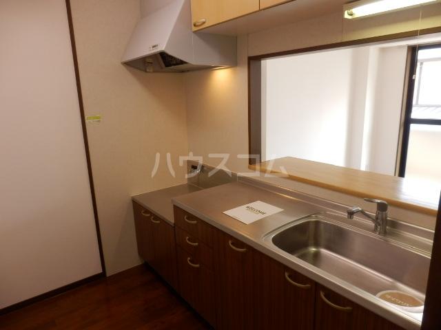 コート辻 303号室のキッチン