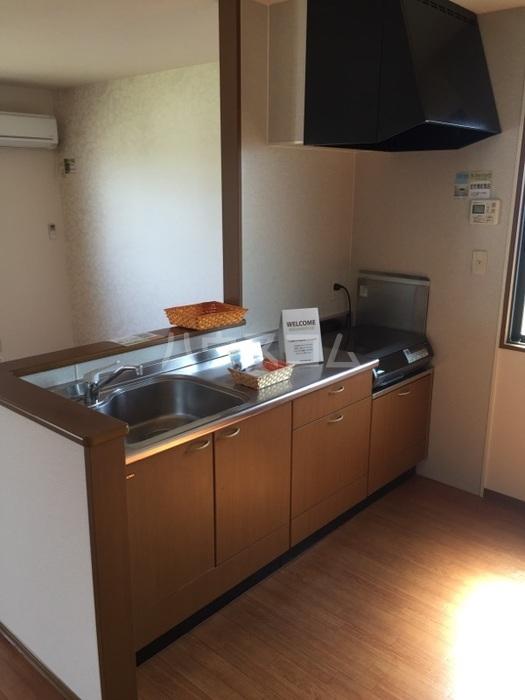 ベルドミール 202号室のキッチン