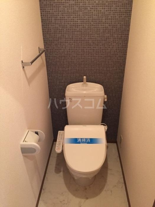 ベルドミール 202号室のトイレ
