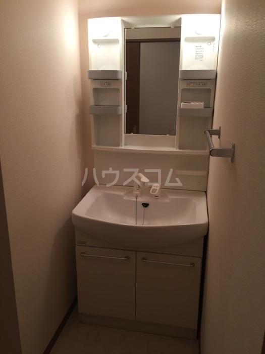 ベルドミール 202号室の洗面所