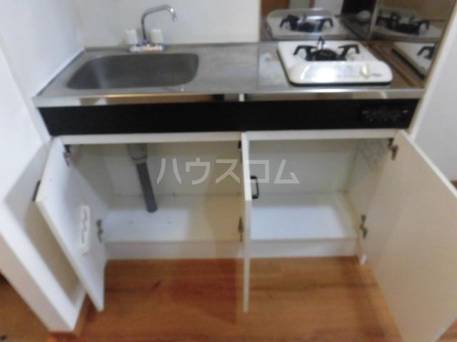 モニカⅡ 108号室のキッチン