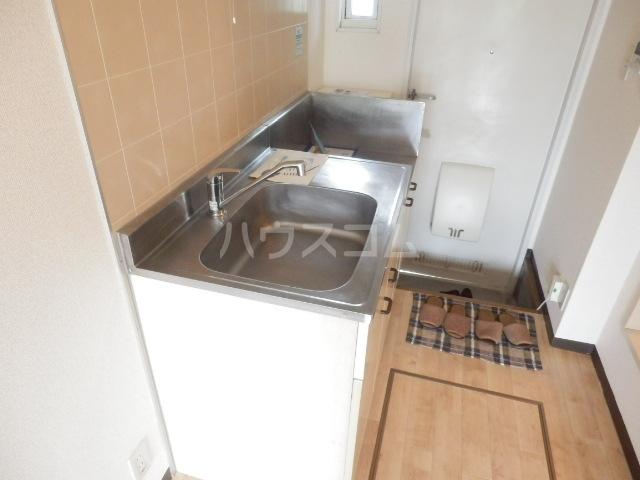 ハイツピッコロ 201号室のキッチン