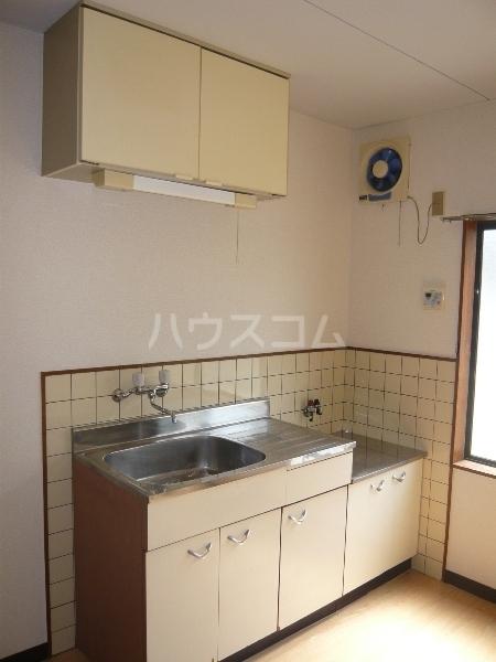 ムーニーヨーロピアン 106号室のキッチン