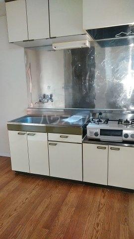 エスプリード・スガノ 201号室のキッチン