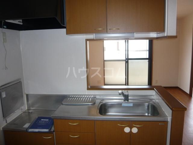 レジデンス神ノ倉C 101号室のキッチン