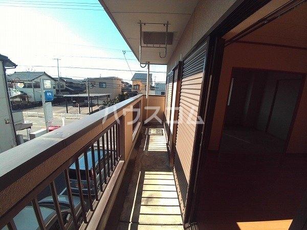 マンション チヨノ 301号室のバルコニー