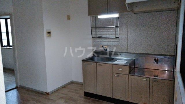 ポルクⅢ 205号室のキッチン
