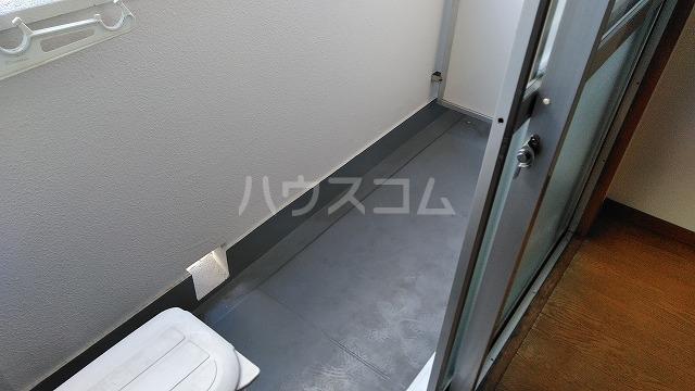 セントラルハイツ堀田 207号室のバルコニー