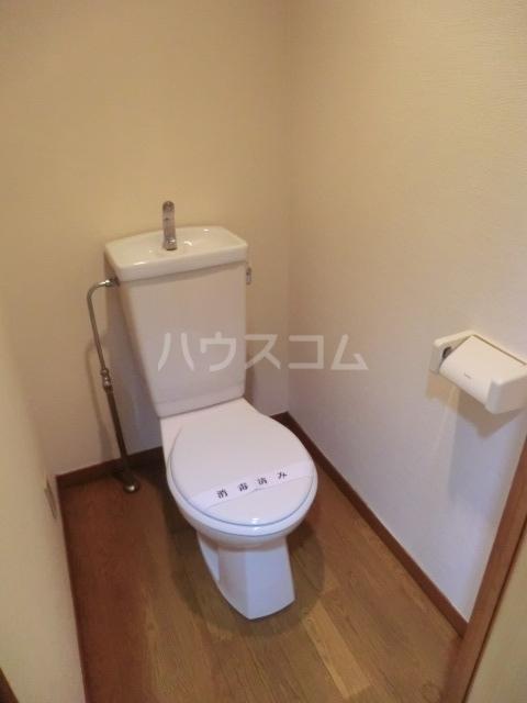 セントラルハイツ堀田 208号室のトイレ