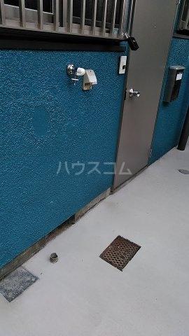 高山荘 202号室のバルコニー