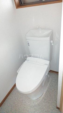 高山荘 202号室のトイレ