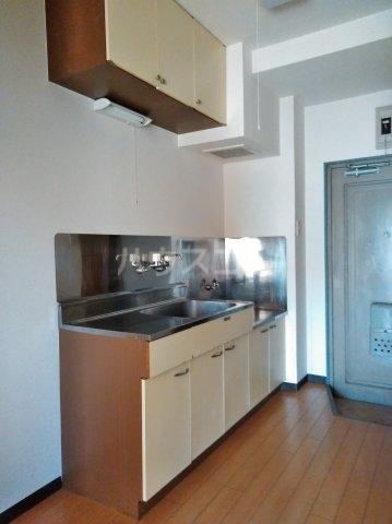 パレス菅沼 201号室のキッチン
