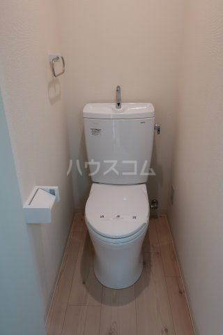 堤ハイツ 3-E号室のトイレ