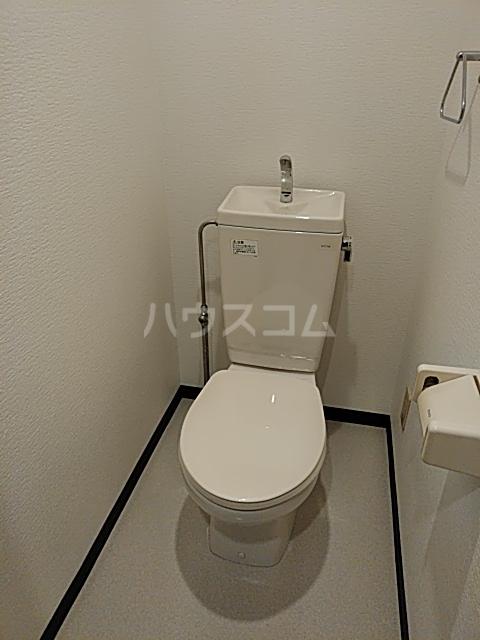 ヒルズかすみ 102号室のトイレ