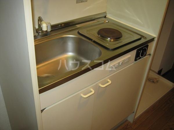 カーサ川並 308号室のキッチン