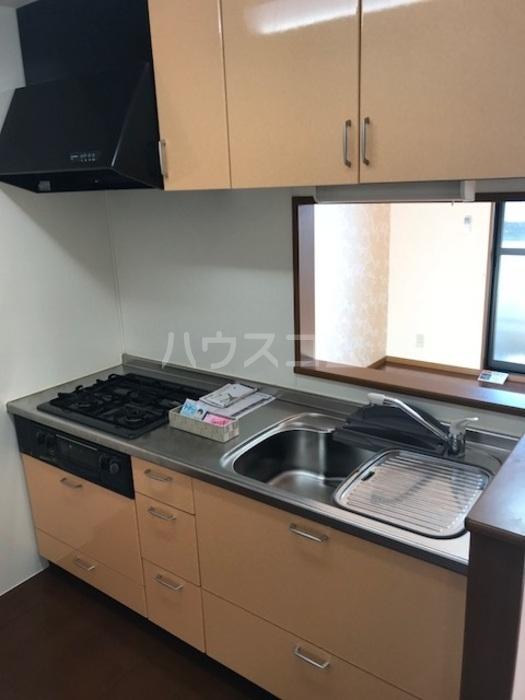 セジュールS・K 102号室のキッチン