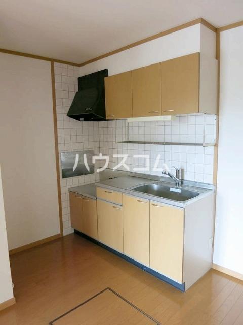 ボーシャルダンB 101号室のキッチン