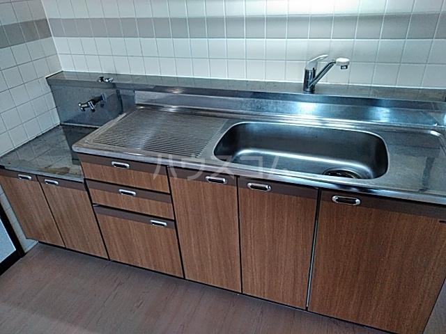 スリーシャイン大磯 501号室のキッチン