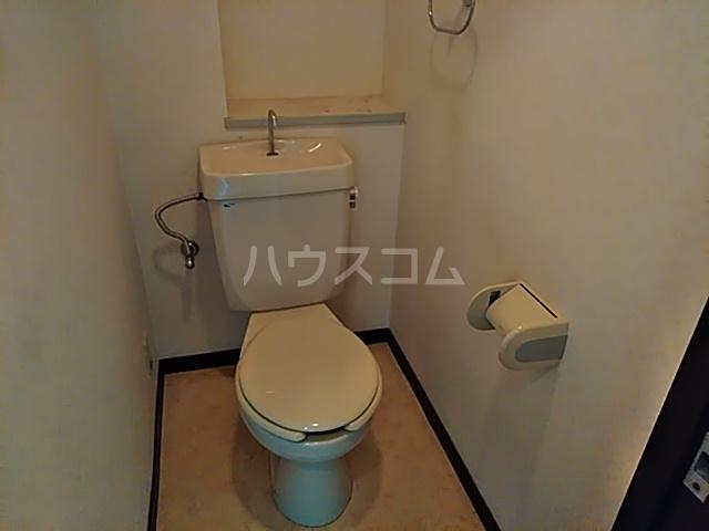 スリーシャイン大磯 501号室のトイレ