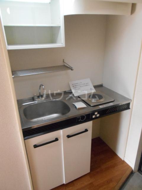 レオパレス植田第2 103号室のキッチン