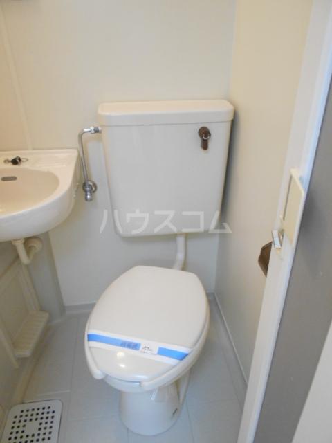 レオパレス植田第2 103号室のトイレ