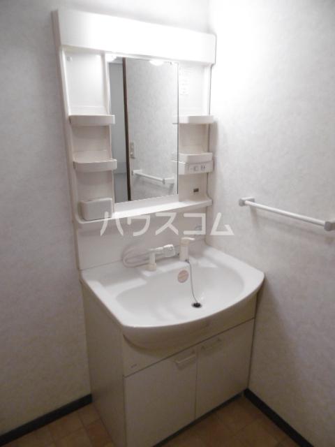 パインツリーコート 302号室の洗面所