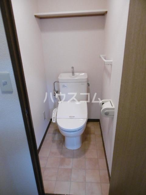 パインツリーコート 302号室のトイレ