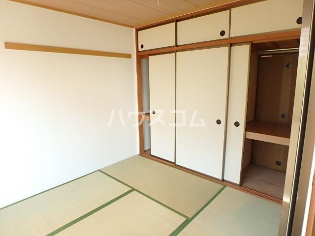 サニーコート田辺B 205号室のベッドルーム