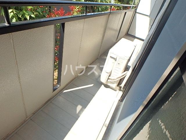 サニーコート田辺B 205号室のバルコニー