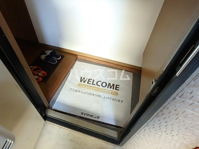 サニーコート田辺B 205号室の玄関