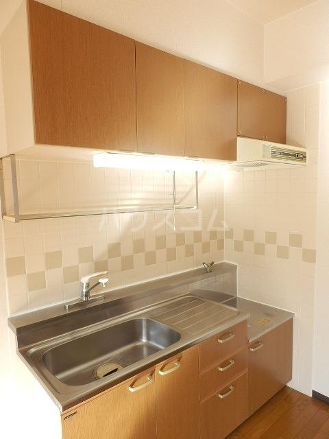 メゾンドラピュタⅡ 201号室のキッチン
