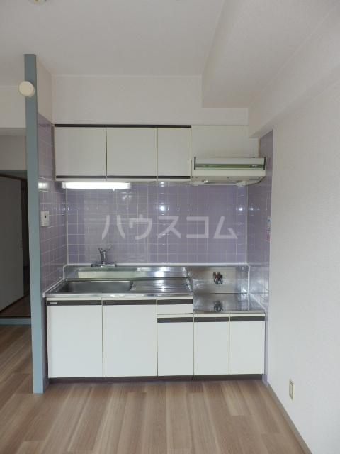 第32オーシャンハイツのキッチン