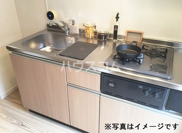 Abisko 103号室のキッチン