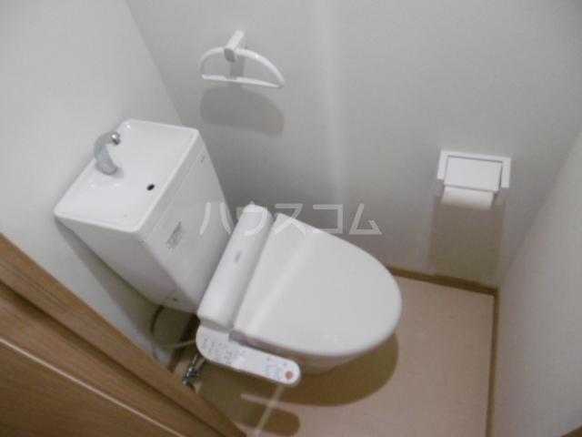 トーマス 304号室のトイレ