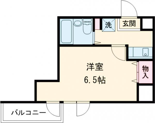 共立リライアンス上野町Ⅰ・307号室の間取り