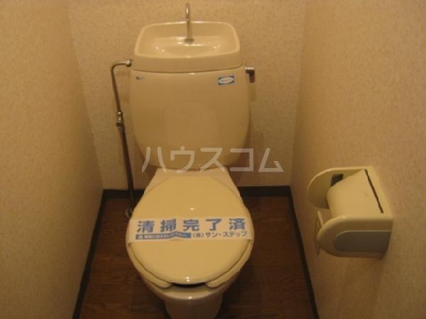 スリーゼ・K 3D号室のトイレ